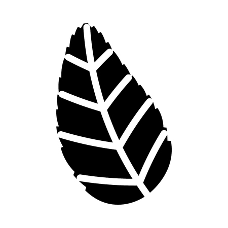 tea leafs product icon vector illustration design Stock Vector - 81846662