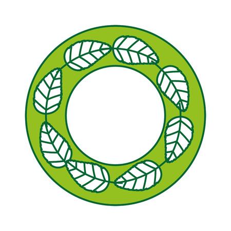 tea leafs product icon vector illustration design Stock Vector - 81847244