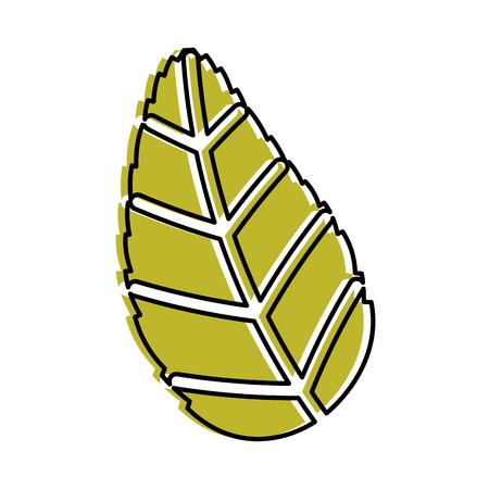 tea leafs product icon vector illustration design Stock Vector - 81847371