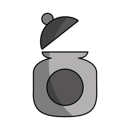 Zucker Topf isoliert Symbol Vektor-Illustration Design Standard-Bild - 81847550