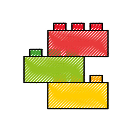 schoolbord scholen geïsoleerde pictogram vectorillustratieontwerp Stock Illustratie