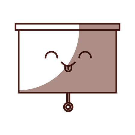 Window blind kawaii character vector illustration design Иллюстрация