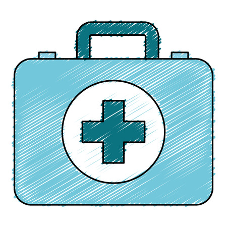 medical kit isolated icon vector illustration design Zdjęcie Seryjne - 82003066