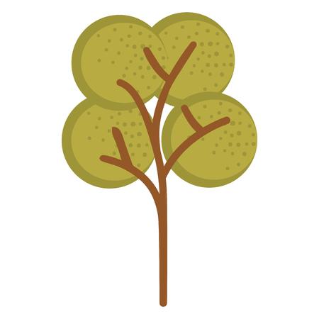 A tree plant isolated icon vector illustration design. Illustration