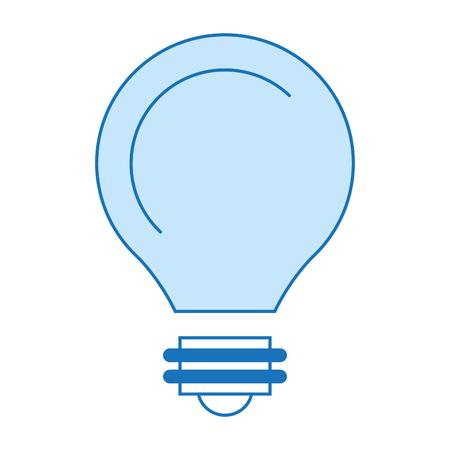 Lokalisierte Ikonenvektor-Illustrationsdesign der Birne helles Standard-Bild - 82026624