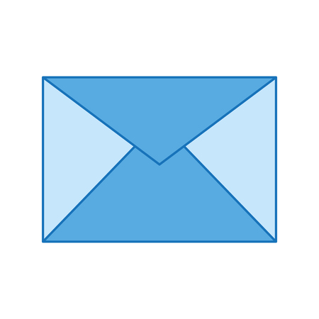 Envelope mail isolated icon vector illustration design. Illustration