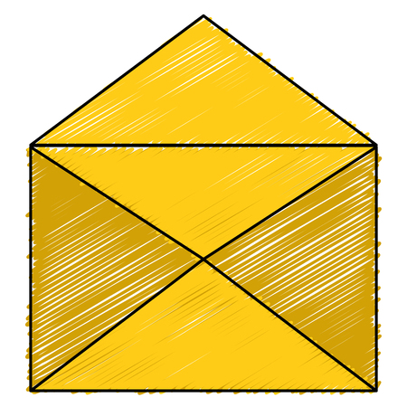 envelope mail isolated icon vector illustration design Reklamní fotografie