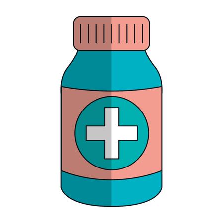 bottle drugs isolated icon vector illustration design Фото со стока - 82028044