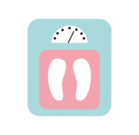Balance bathroom isolated icon vector illustration design Stock fotó - 82029141