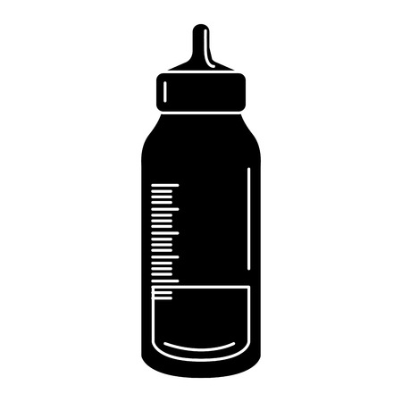 bottle baby isolated icon vector illustration design