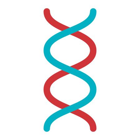DNA-Molekül isoliert Symbol Vektor-Illustration, Design, Standard-Bild - 82028658