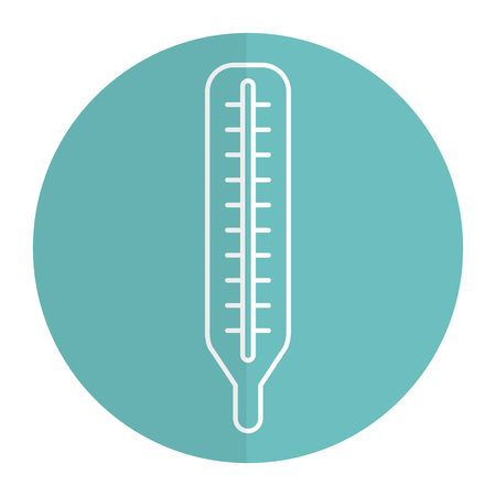 termometer medical isolated icon vector illustration design