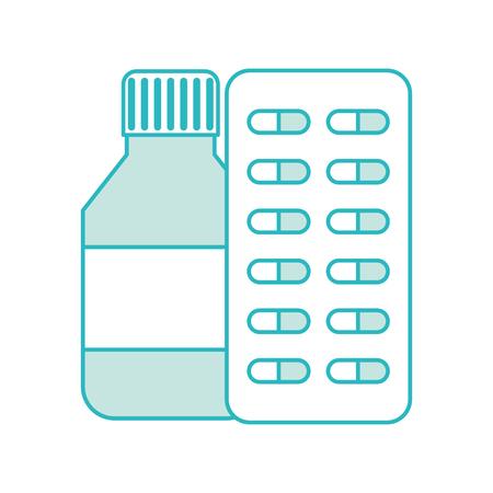 bottle drugs isolated icon vector illustration design Фото со стока - 82028914