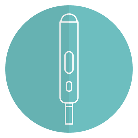 pregnancy test isolated icon vector illustration design Illusztráció