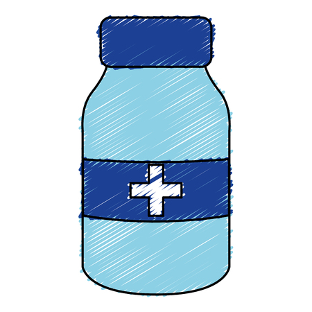 bottle drugs isolated icon vector illustration design Фото со стока - 82028888