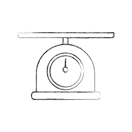 scale gramer isolated icon vector illustration design Ilustração