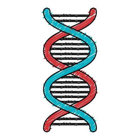 DNA-Molekül isoliert Symbol Vektor-Illustration, Design, Standard-Bild - 82029627