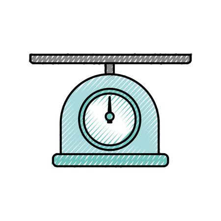 scale gramer isolated icon vector illustration design Illustration