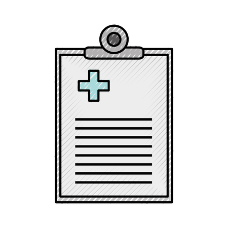 medical order document icon vector illustration design Imagens - 82032244