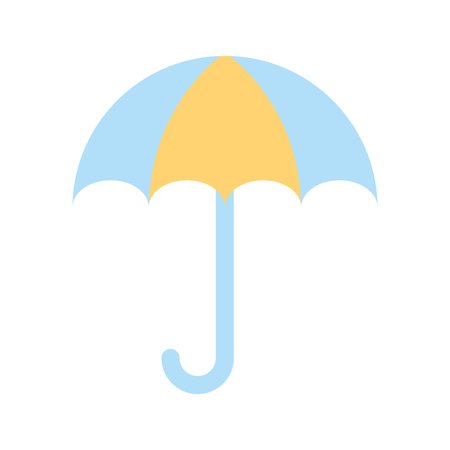 小さな傘のアイコン ベクトル イラスト デザインを分離しました。 写真素材 - 82032241