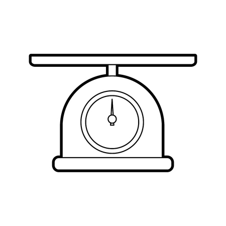 scale isolated icon vector illustration design