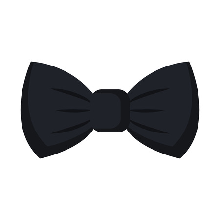 elegant bowtie isolated icon vector illustration design Banco de Imagens - 82032437