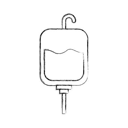 blood bag donation icon vector illustration design Иллюстрация