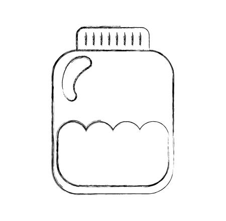 mason: mason jar bottle icon vector illustration design