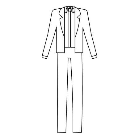 male wedding dress icon vector illustration design Stock Vector - 82032783