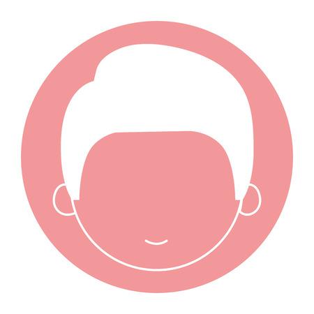 schattig en jongens karakter vector illustratie ontwerp