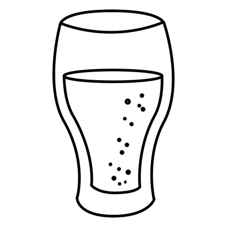water glass isolated icon vector illustration design Imagens - 82057869