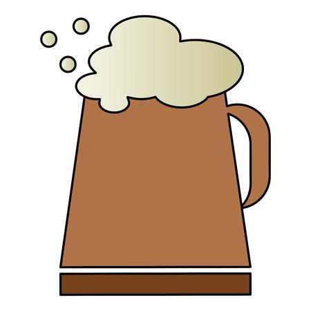 Pot de bière isolé icône illustration vectorielle design Banque d'images - 82057933