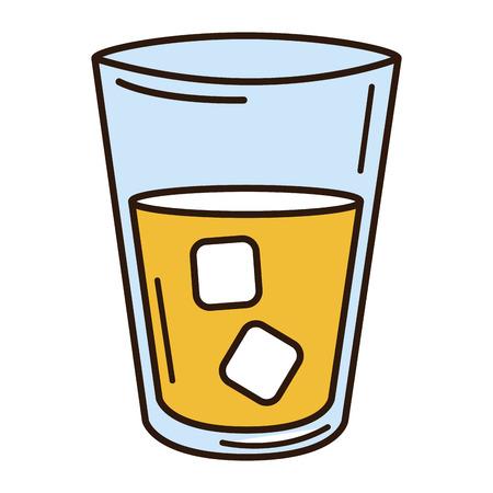 물 유리 절연 아이콘 벡터 일러스트 레이 션 디자인 일러스트