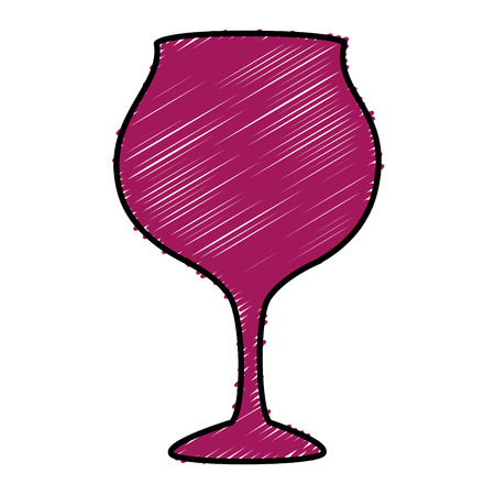 wine cup isolated icon vector illustration design Ilustracja