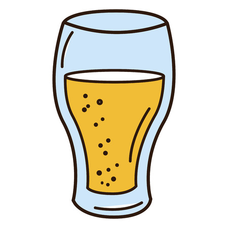 beer cup isolated icon vector illustration design Ilustracja