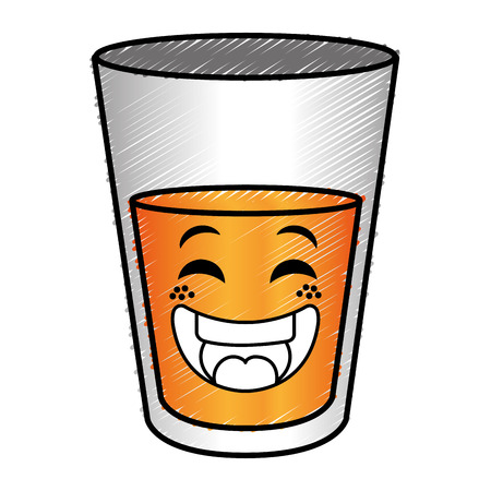 beer cup  character vector illustration design Ilustracja