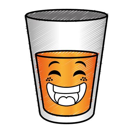bier beker karakter vector illustratie ontwerp Stock Illustratie