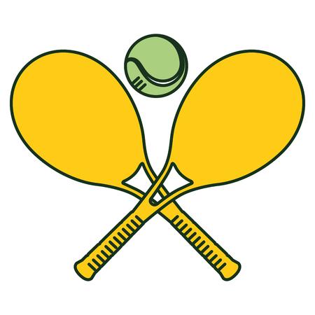 ボール ベクトル イラスト デザインしたテニス ラケット