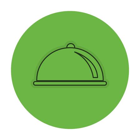 Serveur icône de la barre isolée illustration vectorielle conception Banque d'images - 82041808
