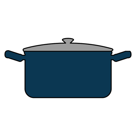 kitchen pot isolated icon vector illustration design Иллюстрация