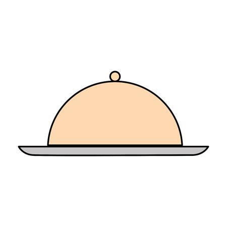 Serveur icône de la barre isolée illustration vectorielle conception Banque d'images - 82041217