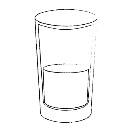 juice glass icon over white background vector illustration Stok Fotoğraf - 82071539