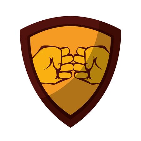 Human hand symbol icon Illustration vectorielle design graphique Banque d'images - 82072495