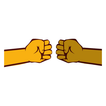 Human hand symbol icon Illustration vectorielle design graphique Banque d'images - 82069279