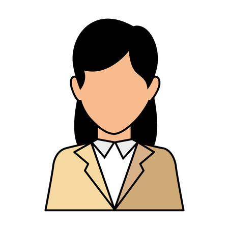 icône d & # 39 ; affaires sur fond blanc illustration vectorielle Vecteurs