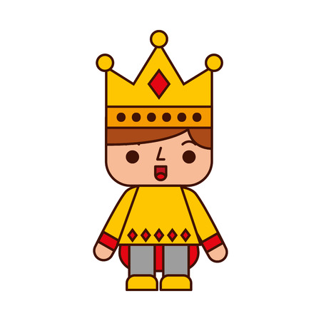 ビデオ ゲーム王子アバター ベクトル イラスト デザイン