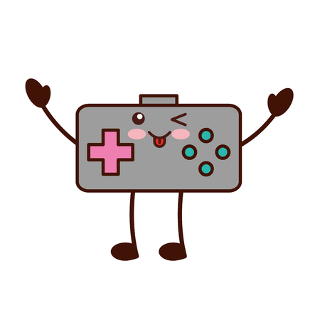 video game control character vector illustration design