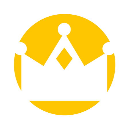 queen crown isolated icon vector illustration design Stock Vector - 82202507