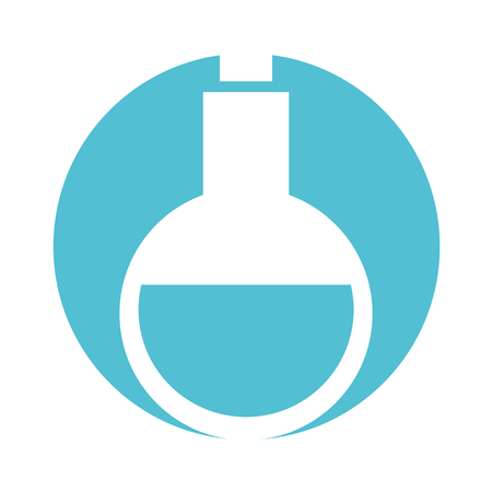tube test with potion vector illustration design