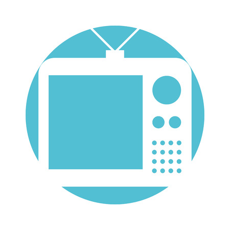 old tv isolated icon vector illustration design Reklamní fotografie - 82202499